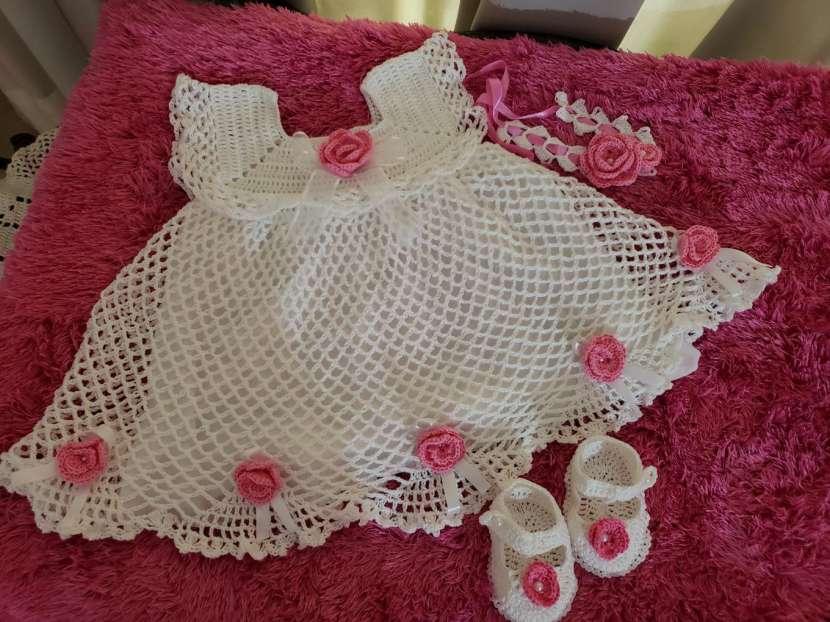Vestiditos de crochet para tu bebé - 5
