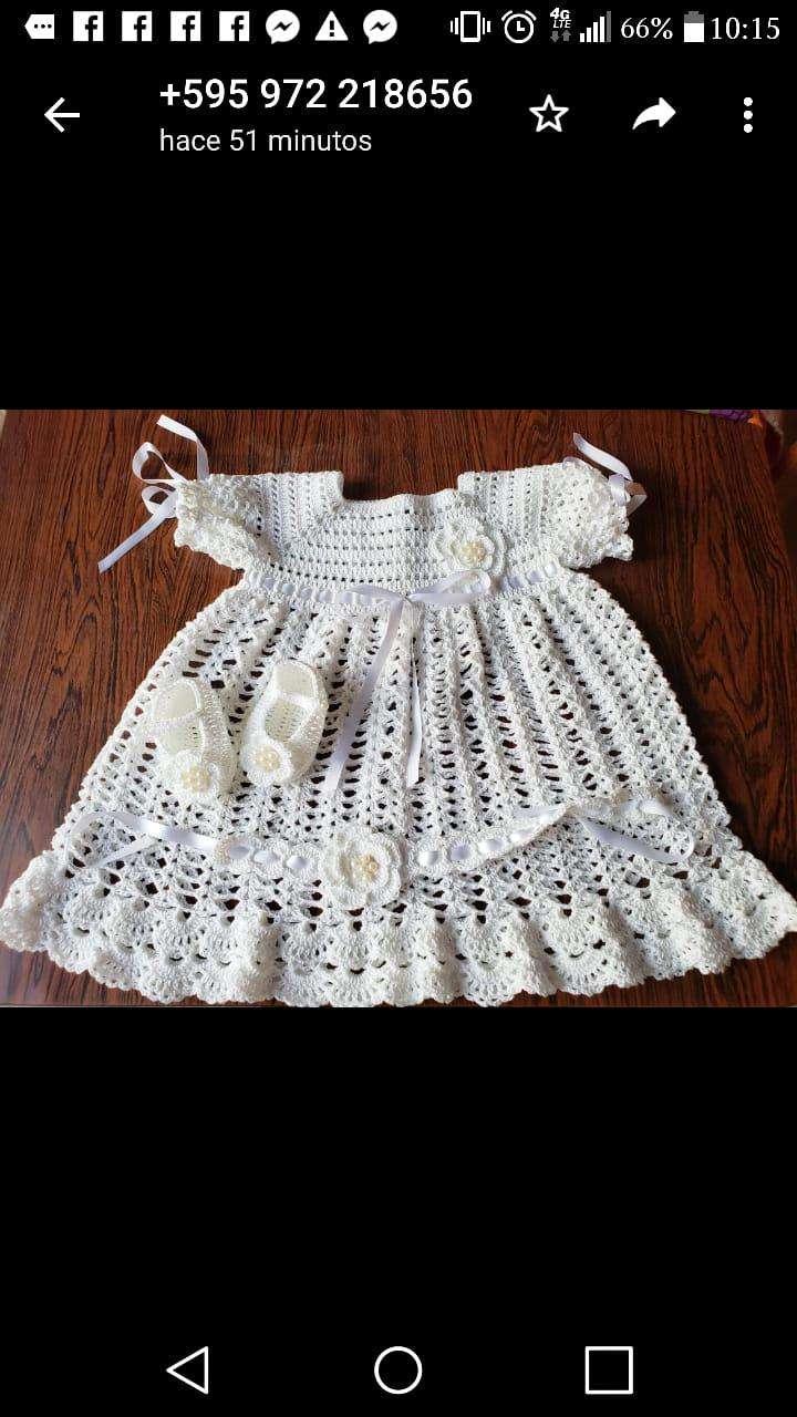 Vestiditos de crochet para tu bebé - 8