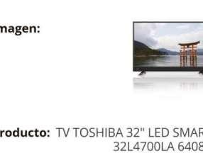 Tv Toshiba 32 pulgadas Led Smart