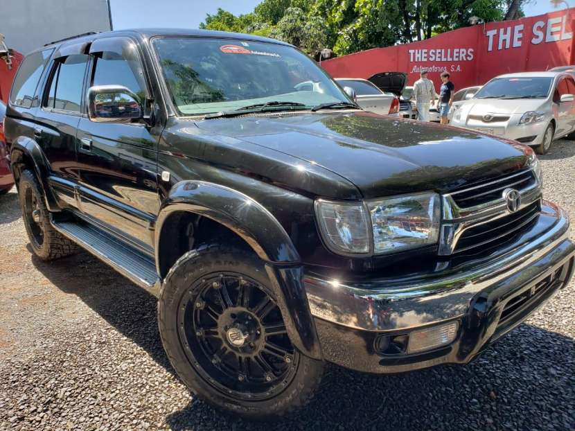 Toyota hilux surf 2000 naftero 2.7 automático 4x4 full equipo - 0