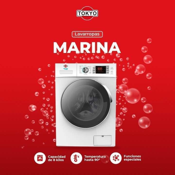 Lavarropas Tokyo Marina 8 kg