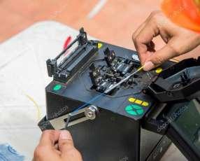 Instalación fibra óptica cableados