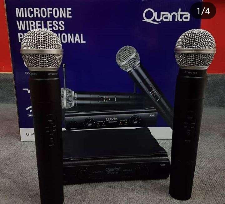 Micrófono inalámbrico - 0