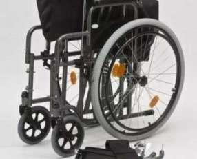 Silla de ruedas reforzada