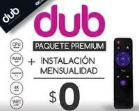 Tv box convertidor smart tv dub canales premium gratis iptv