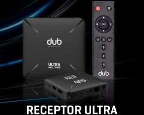 Tv box DUB IPTV convertidor a Smart