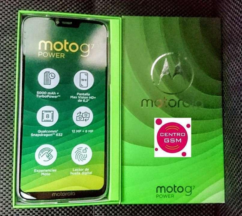Motorola Moto G7 Power 64 gb nuevos