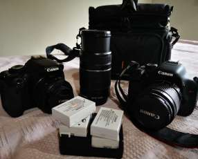 2 Cámaras Canon T3i