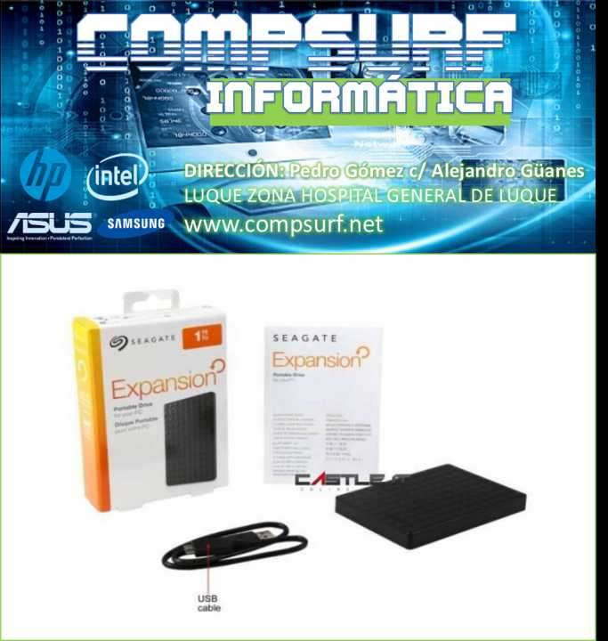 Disco duro externo USB 3.0 de Seagate