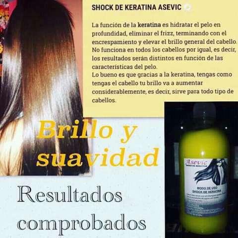Shock de keratina Asevic