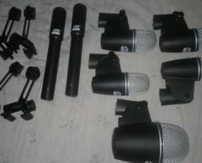 Micrófonos para batería acústica profesional