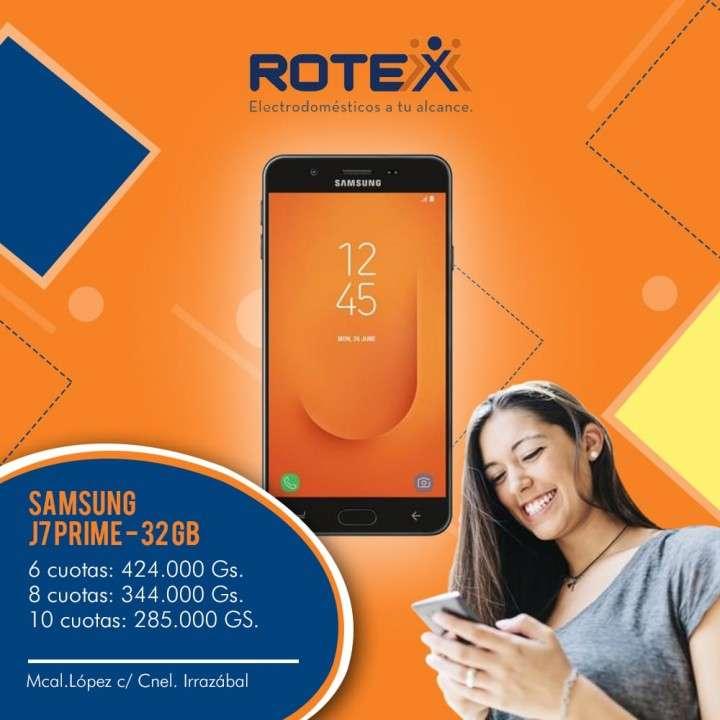 Samsung Galaxy J7 Prime de 32 gb a cuotas - 0