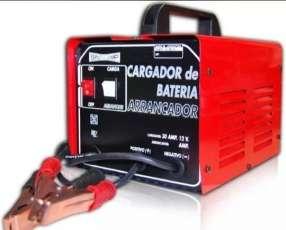 Cargador de batería y arrancador
