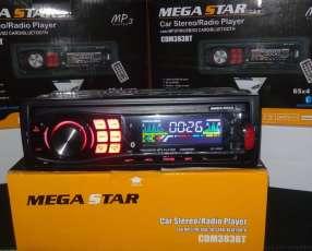 Autoradio Megastar con usb y bluetooth