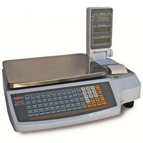 Balanza digital Tokyo ACSP2NV con impresora 30 kilos