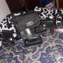 Grabadora JVC y cámara Kodak