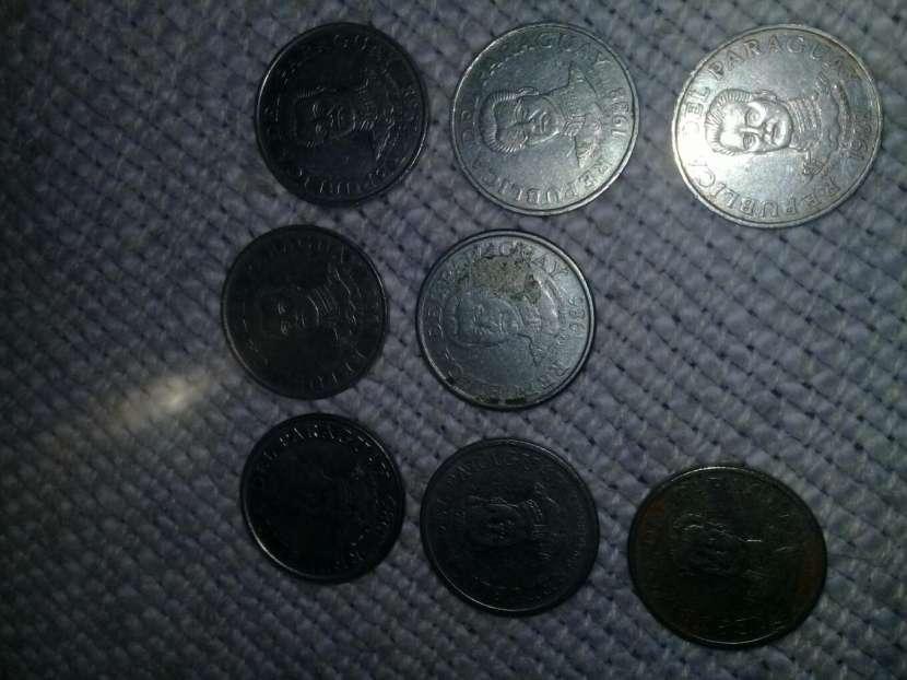 Monedas de 50 Guaraníes Antiguas