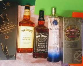 Whisky Jagger Tequila y Vodka