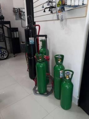Alquiler de tubos de oxígeno con equipo completo