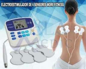 Electroestimulador de cuatro sensores
