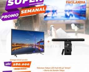 Televisor tokyo led full HD 43