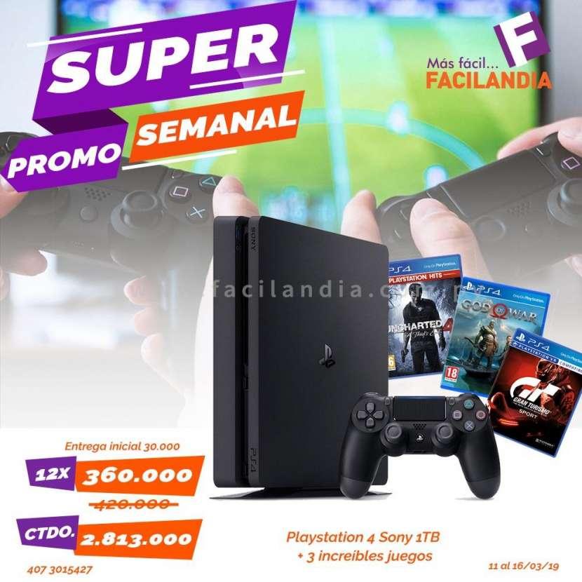PS4 de 1 TB