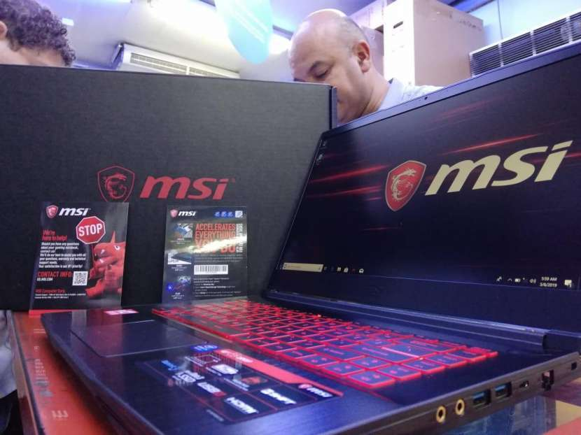 Notebook Msi Gf63 8RD - 0