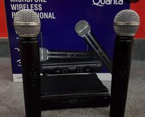 Micrófono inalámbrico profesional