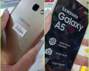Samsung Galaxy A5 2017 con protectores antishock