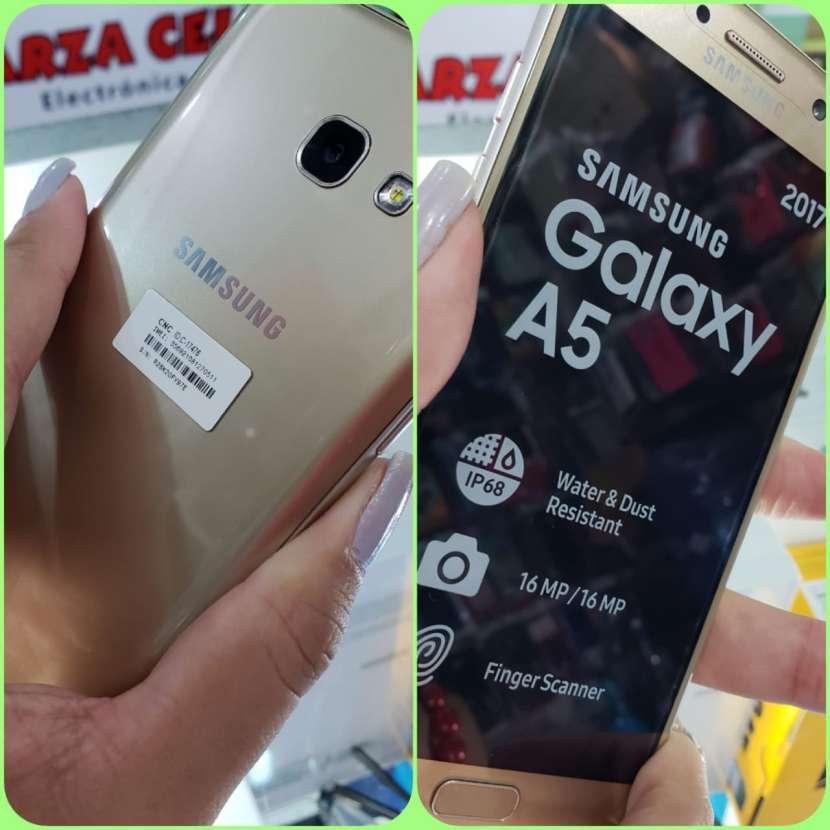 Samsung Galaxy A5 2017 con protectores antishock - 0