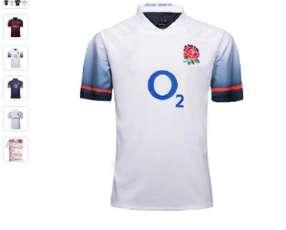 Remera Rugby Inglaterra Blanco