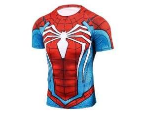 Camiseta de segunda piel ciclismo Hombre Araña