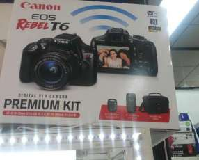 Canon premiun kit eos rebel t6
