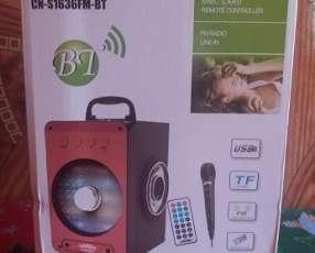 Parlante portátil mini karaoke con micrófono