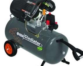 Compresor Gladiator 100 litros 3 HP