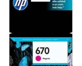 Cartucho de Tinta HP 670 Magenta