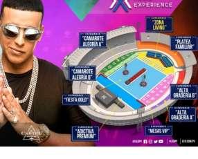 Entradas para el concierto de Daddy Yankee