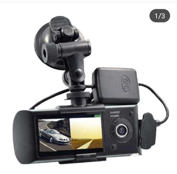 Cámara de doble lente automático con GPS incorporado - 0