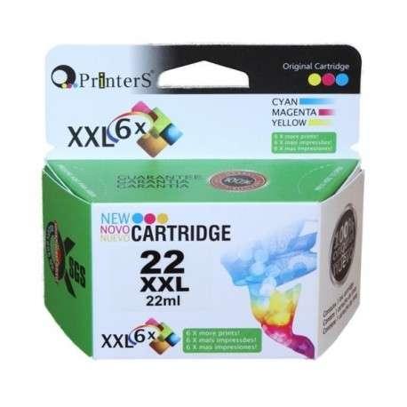 Cartucho de Tinta Printers 22 Color - 0
