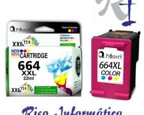 Cartucho de Tinta Printers 664 Color