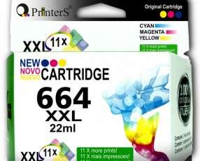 Cartucho de Tinta Printers 664 Color