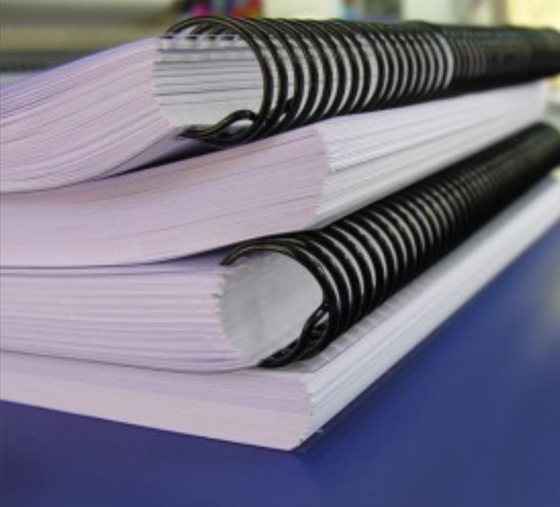 Encuadernaciones a espiral y fotocopias - 1