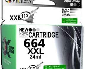 Cartucho de Tinta Printers 664 Negro