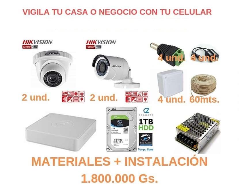 4 cámaras Hikvision - 0