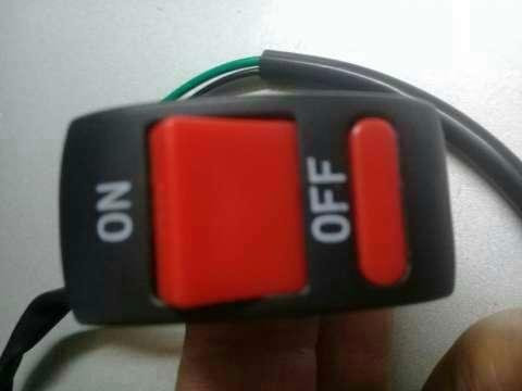 Llave on /off para motocicleta - 5
