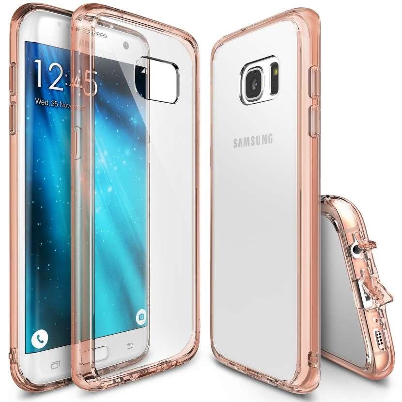 Ringke Fusion Gold funda para Samsung Galaxy S7 - 0