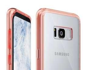 Ringke Fusion Rose Gold funda para Samsung Galaxy S8+