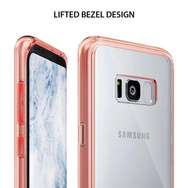 Ringke Fusion Rose Gold funda para Samsung Galaxy S8+ - 0