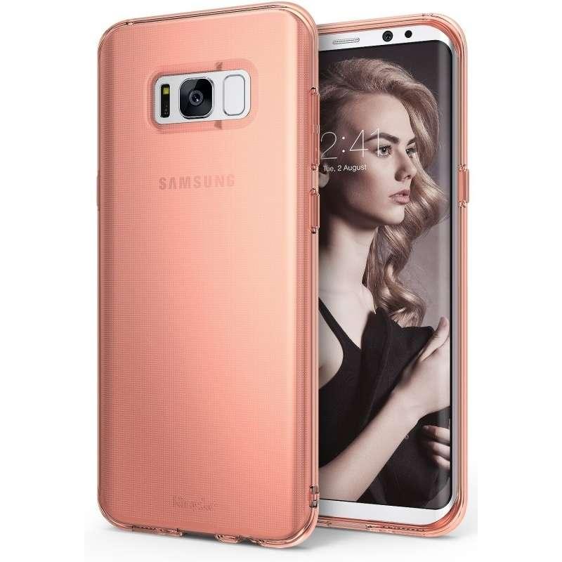 Ringke Air Rose Gold funda para Samsung Galaxy S8+ - 0