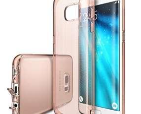 Ringke Air Rose Gold funda para Samsung Galaxy S7 Edge